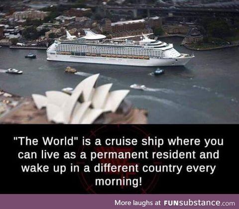 Cool cruise ship