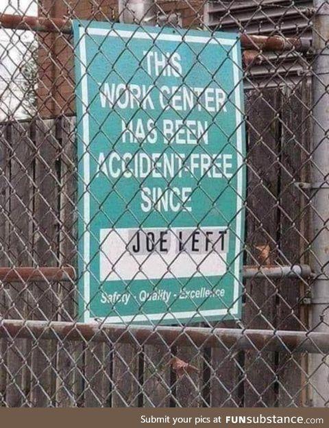 Come on Joe