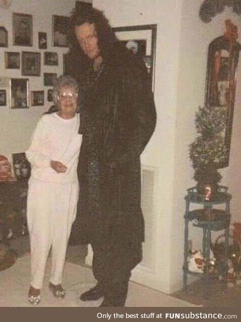 The Undertaker and his Grandmother