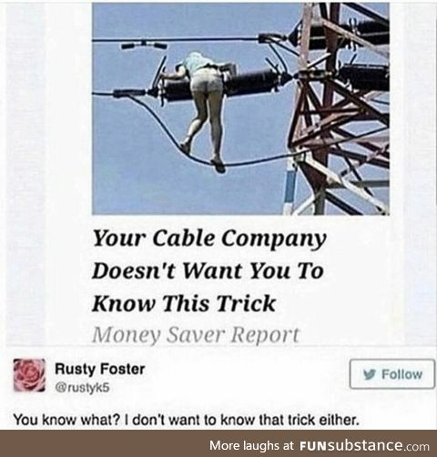 Cable Companies HATE her