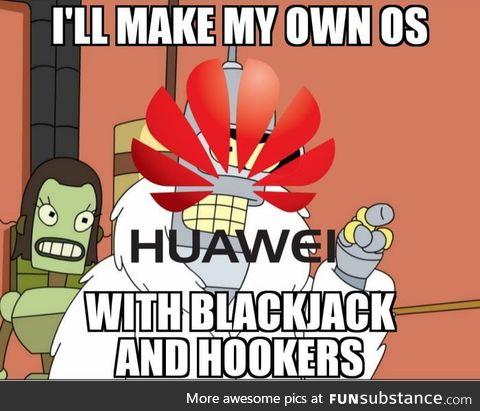 Huawei now
