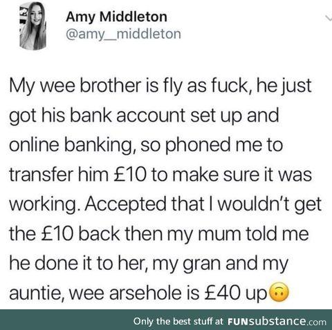 Fly as f**k