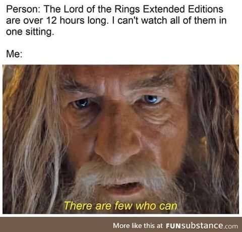 One trilogy to rule them all