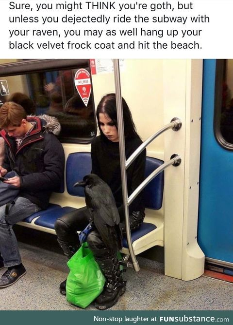 Are you goth enough?