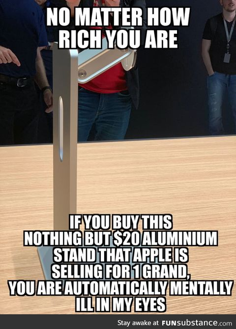 If you buy this, you'll make Apple mock you in the worst way possible and make a