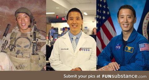 Jonny Kim: NAVY Seal, Harvard trained doctor, NASA pilot