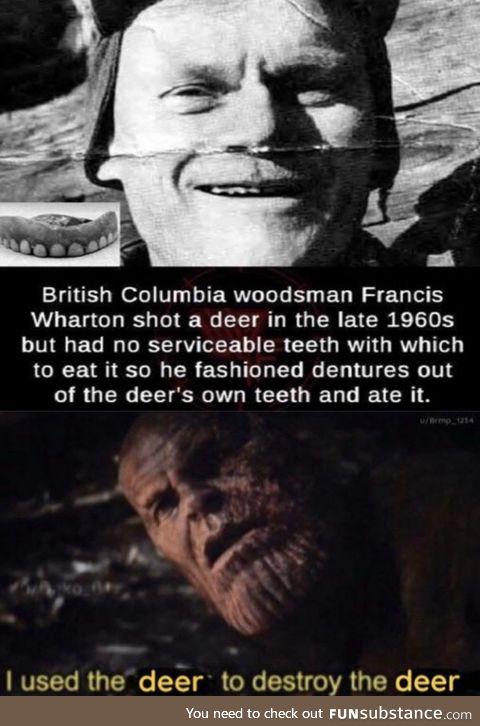Woodsmen are hardcore