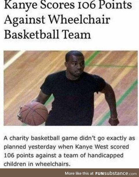 Good job, Kanye