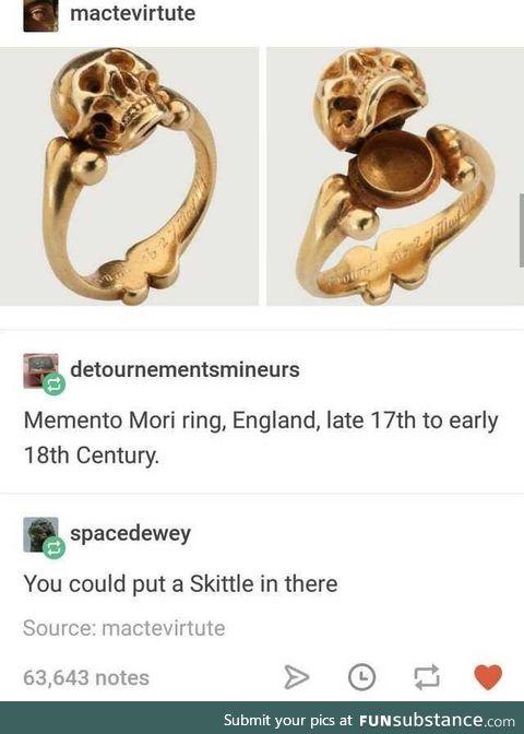 The last Skittle