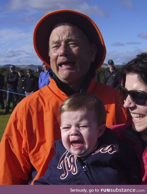 Bill Murray looks a lot like Tom Hanks in this photo