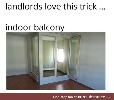 Balcony? That will be + 1000 euros
