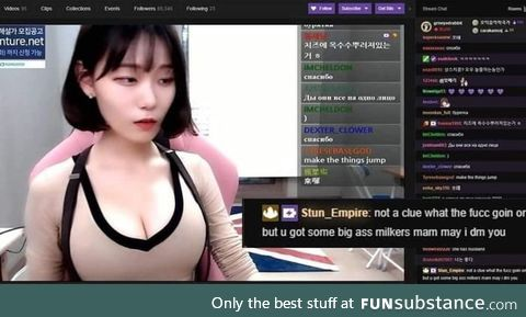 Twitch chat gentlemen show us how to woo a lady
