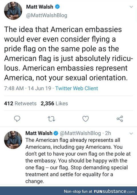 LGBT privilege & victim culture is disgusting