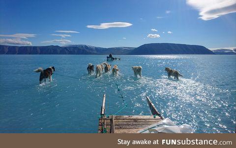 Global Warming in Greenland (Steffen M. Olsen)