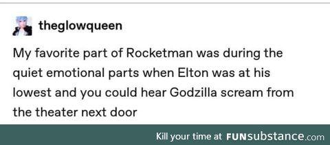 Godzilla man