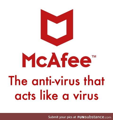 F**k McAfee