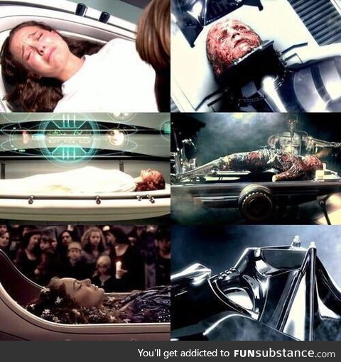 The prequels get way too much invalid hate. The way George paralleled Padme's death