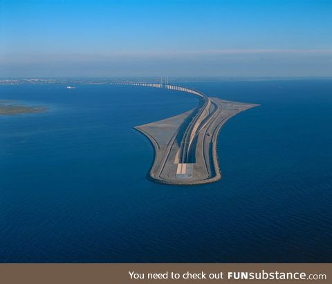 Sweden wanted a bridge, Denmark wanted a tunnel, they compromised