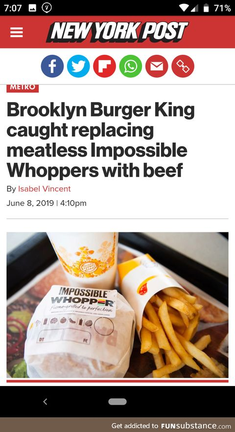 This is why vegans have trust issues
