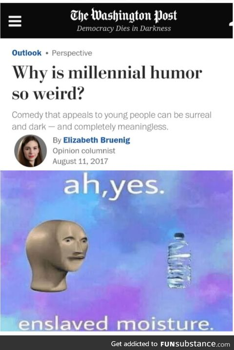 Coincidently Millennials are also the ones who suffer from the most crippling depression