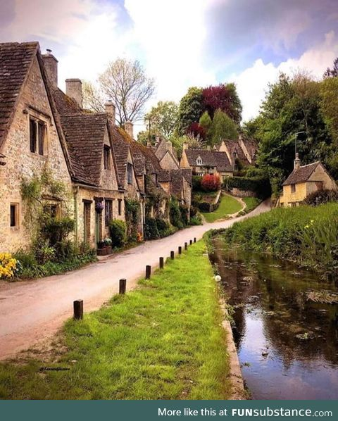 Cozy UK village