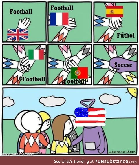 The flag has autism