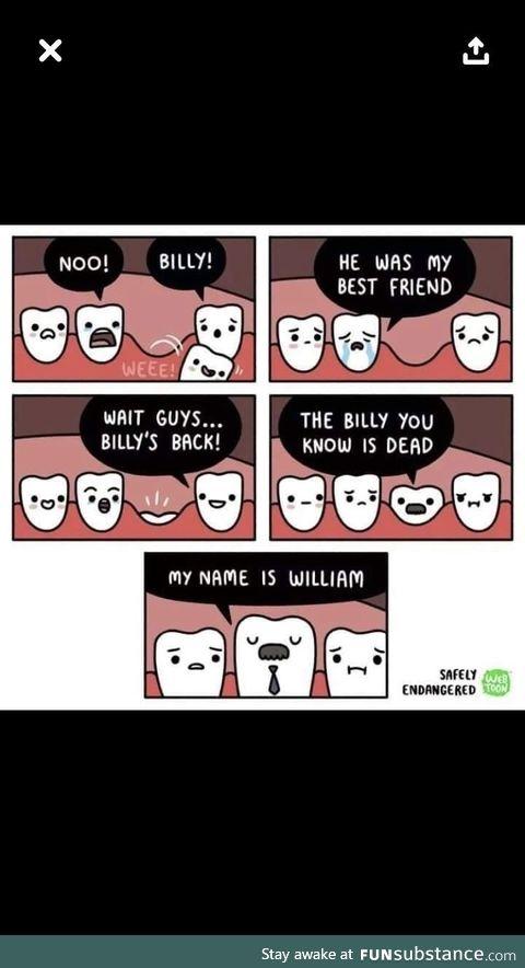 Poor billy