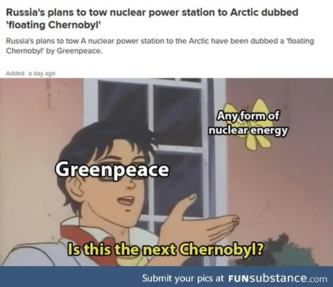 Nuclear power is evil