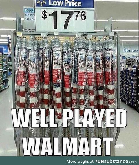 Well played, Wal-Mart