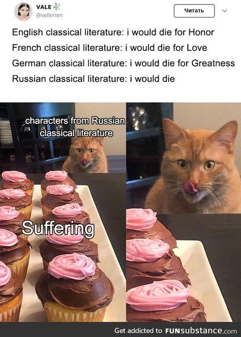 Suffer it is