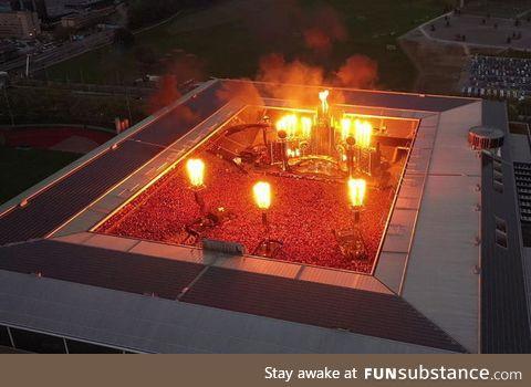RAMMSTEIN Stade de Suisse