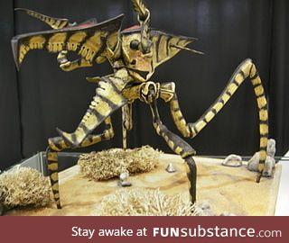 American scientists found a new species of arachnid in Klendathu (near Timbuktu)