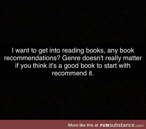 Any good books?