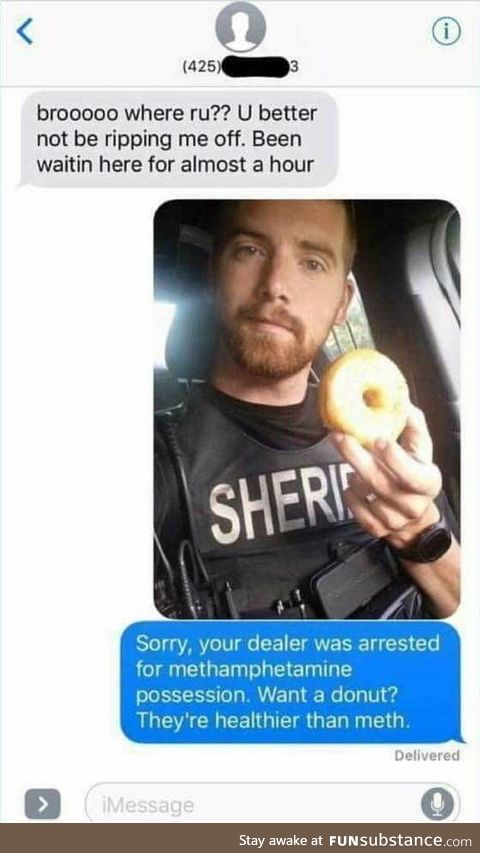 Police uses dealers phone
