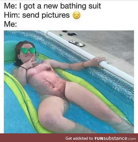 New bathing suit for the summer