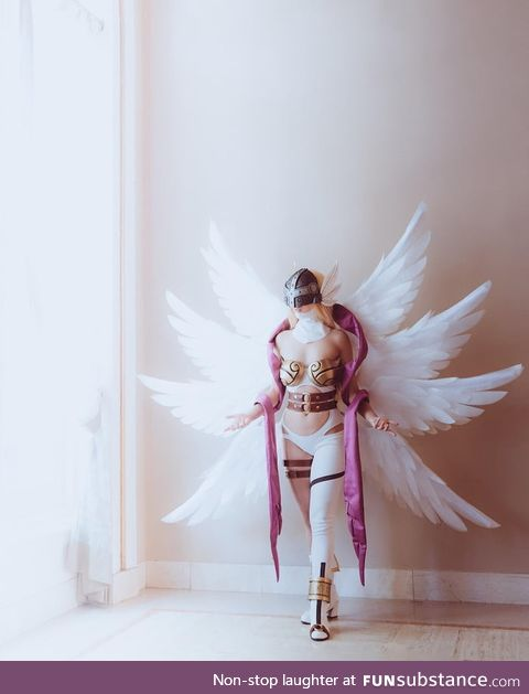 Angewomon Cosplay from Fanime 2019