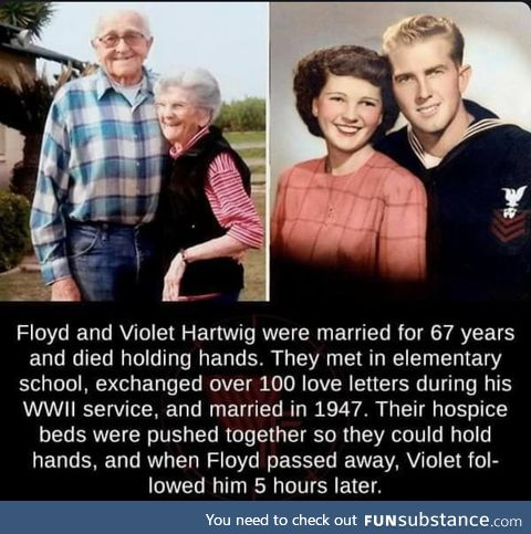 This is such a sweet story between these two folks