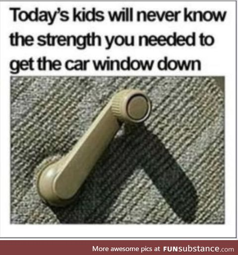 Especially the passenger side one if you were the driver