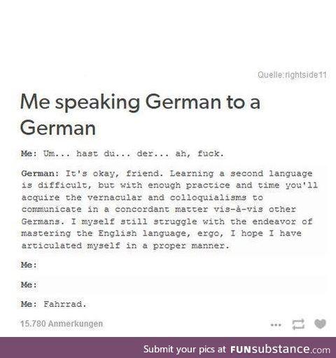 Some Germans can get bent