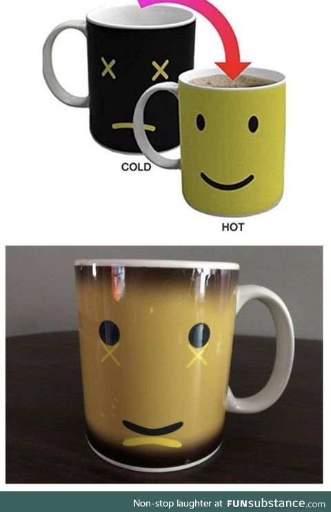 This mug looks so broken inside