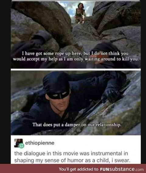 That's a fantastic movie