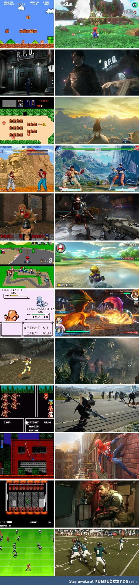 Video game graphics have come a long way