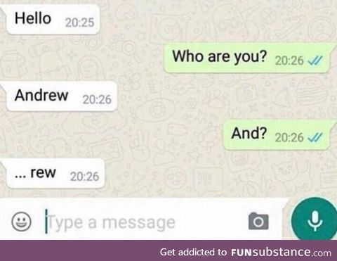 Stellar move, Andy
