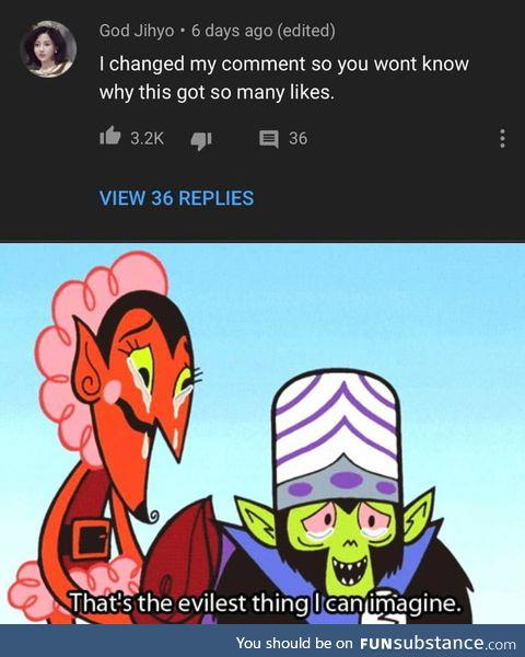 Almost evil