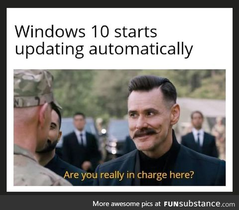 You still in charge?