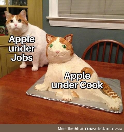 Apple died with Jobs