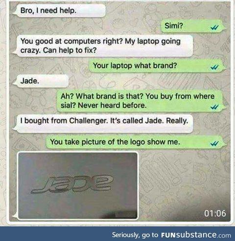 JAdE sad oof