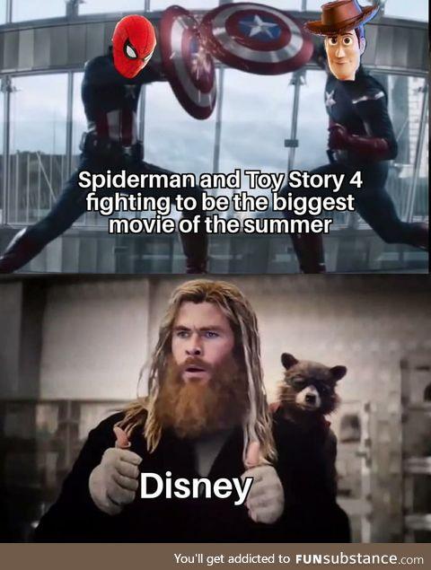 Disney in a nutshell