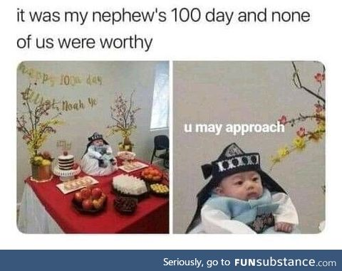 Who the hell celebrates 100 days