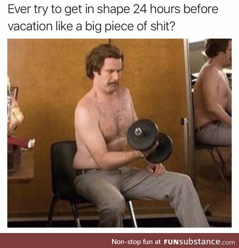It's just water weight